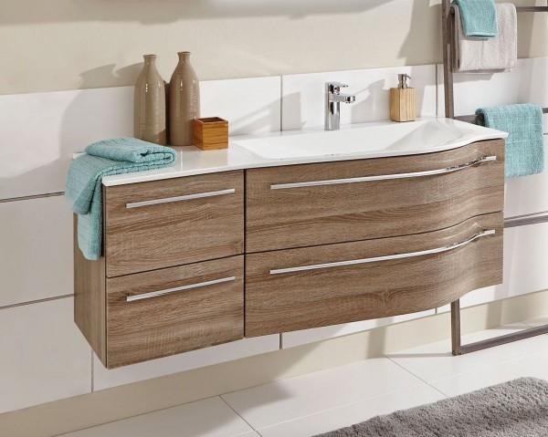 Puris Swing Waschtisch mit Unterschrank 120,6 cm breit – Becken rechts