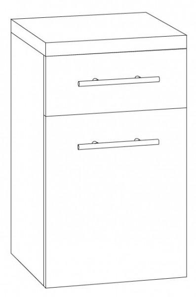 Marlin Bad 3100 - Scala Bad-Unterschrank 40 cm breit UST4F