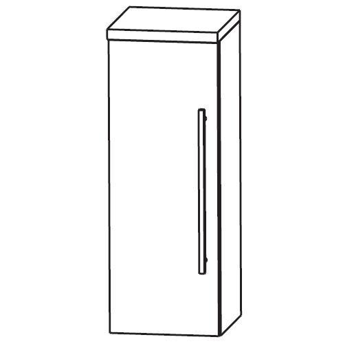 Puris Classic Line Bad-Highboard 40 cm breit HBA514A7