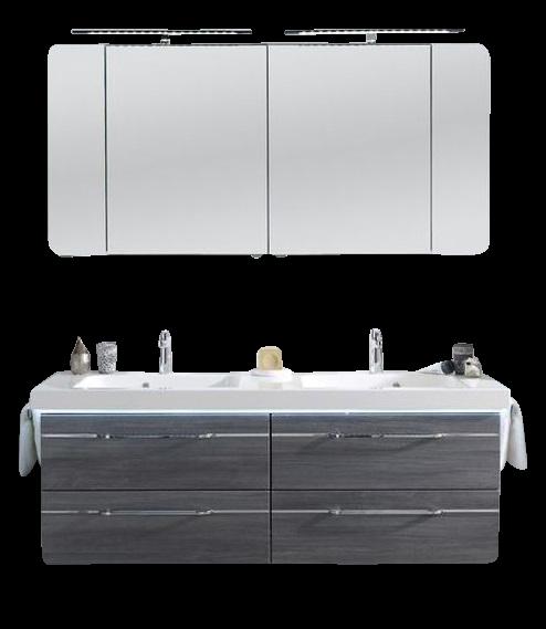 Pelipal Balto Badmöbel Set 148 cm breit – Set 3.2 - ohne Fronteinlage