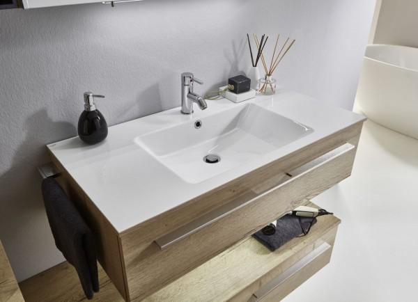 Marlin Bad 3260 Waschtisch mit Unterschrank WKHS9 / 100 cm
