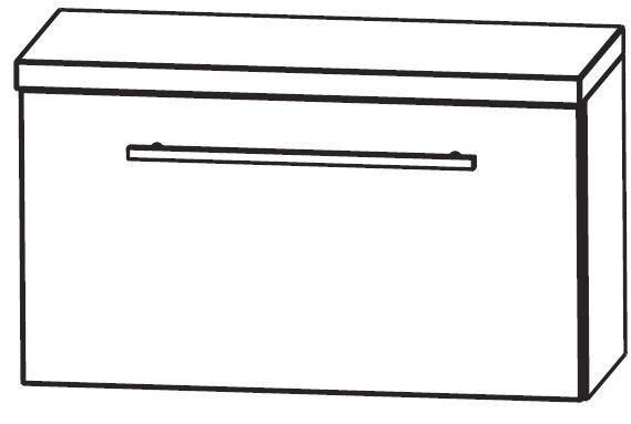 Puris Star Line Bad-Unterschrank 60 cm breit UMA216A7K