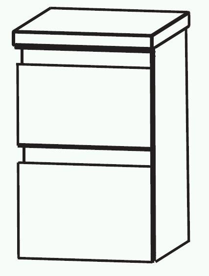 Puris Variado 2.0 Bad-Unterschrank 40 cm breit UNA364A7