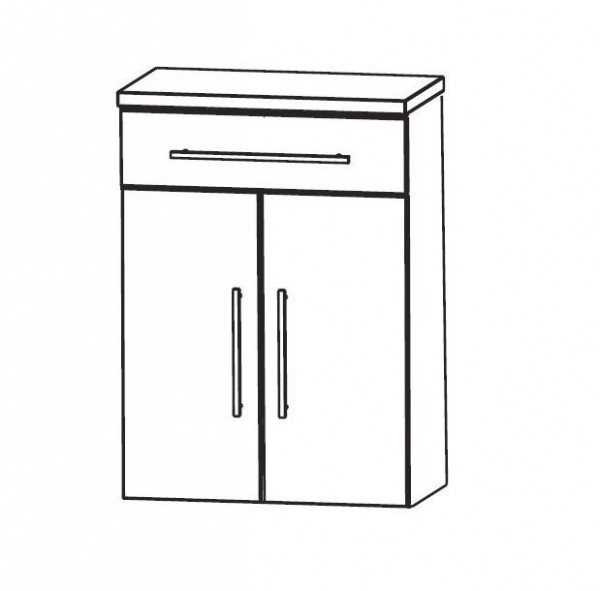 Puris Speed Bad-Highboard 60 cm breit HBA556A