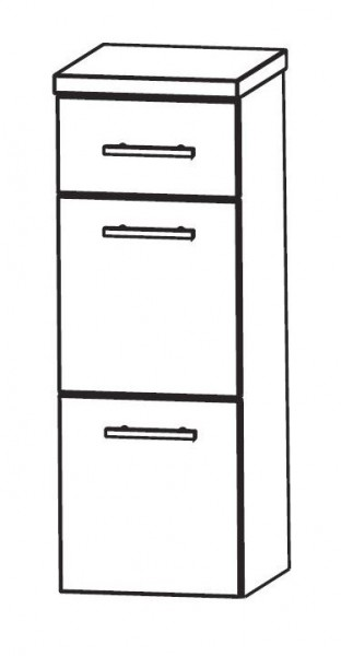 Puris WoW Bad-Highboard 30 cm breit HBA563A