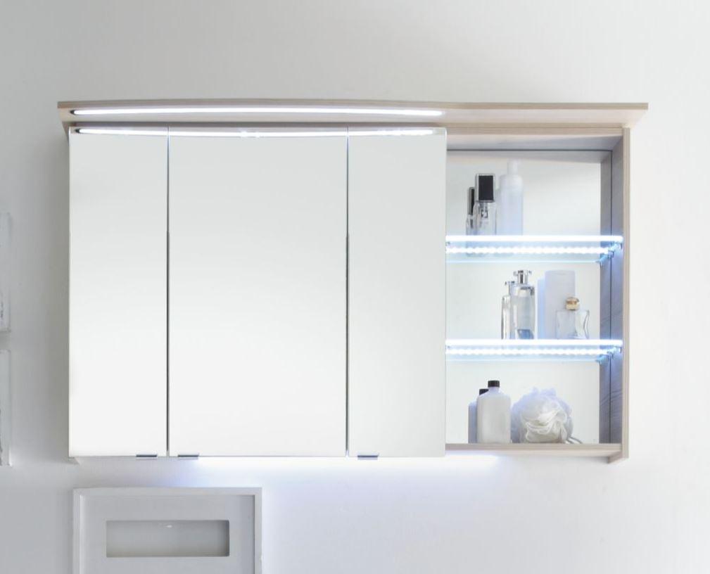 pelipal contea spiegelschrank 120 cm breit links ct s3d7. Black Bedroom Furniture Sets. Home Design Ideas