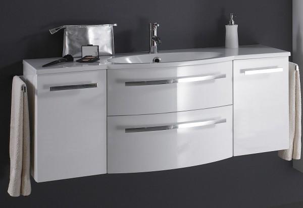 Marlin Bad 3090 – Cosmo Waschtisch mit Unterschrank 120,4 cm breit – Becken mittig