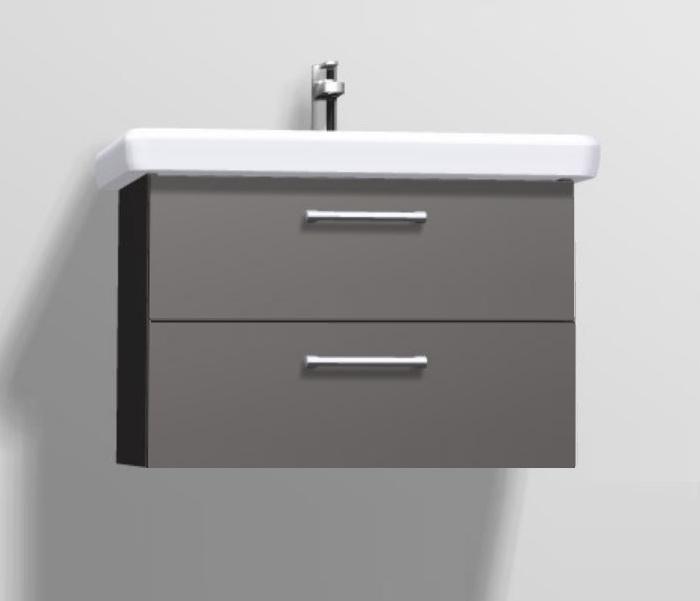 pelipal pineo waschtisch mit unterschrank 80 cm breit belo oder girona badm bel 1. Black Bedroom Furniture Sets. Home Design Ideas