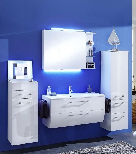Marlin Bad 3130 - Azure Badmöbel Set 100,5 cm breit