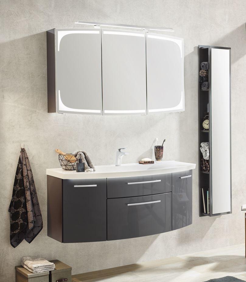 puris classic line badm bel set 120 cm breit kombinierbar. Black Bedroom Furniture Sets. Home Design Ideas