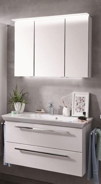 Puris Kao Line Badmöbel Set 86 cm breit, mit Spiegelschrank