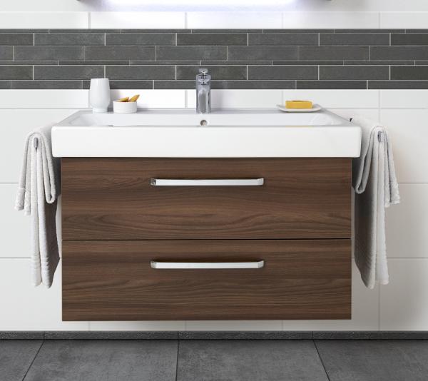 Pelipal Waschtischunterschrank für Waschtisch Keramag Renova Nr. 1 maßvariabel - von 60 cm - 130 cm-