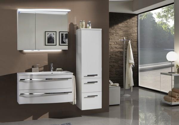 marlin bad 3160 motion badm bel set 90 cm breit kombinierbar becken rechts badm bel 1. Black Bedroom Furniture Sets. Home Design Ideas