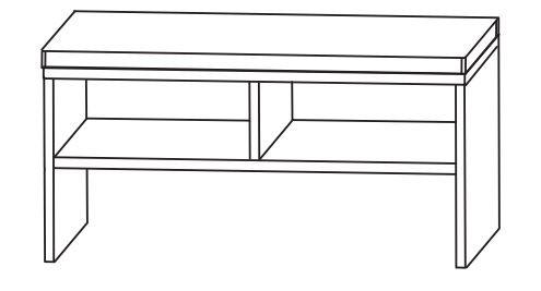 Puris Speed Bad-Sitzbank 90 cm breit SETBANK9