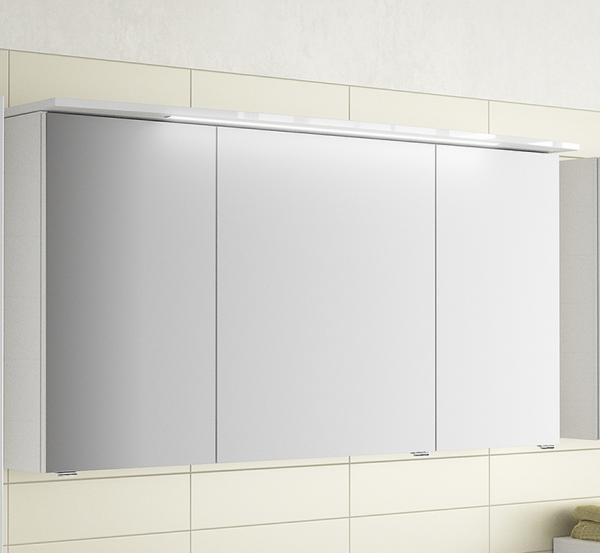 Pelipal Fokus 4010 Spiegelschrank mit LED-Beleuchtung im Kranz 120 breit 4850._1250