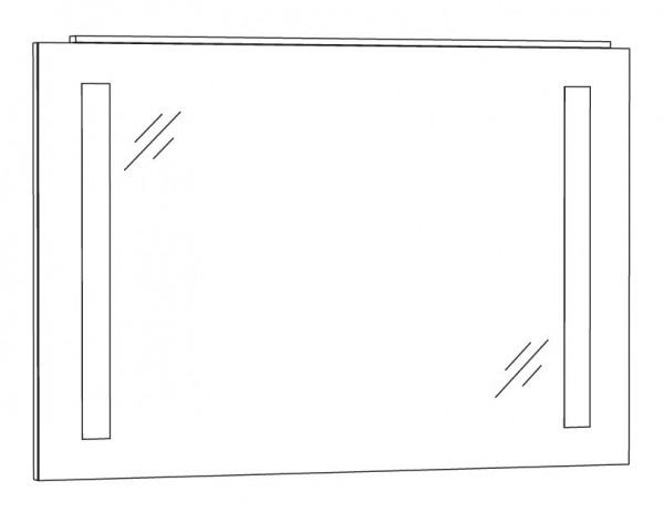 Marlin Bad 3130 - Azure Badspiegel 100 cm breit SPFLS10