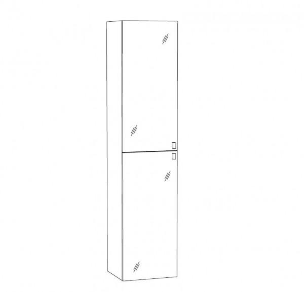 Marlin Bad 3100 - Scala Bad-Hochschrank 40 cm breit HPP4 / HFPP4