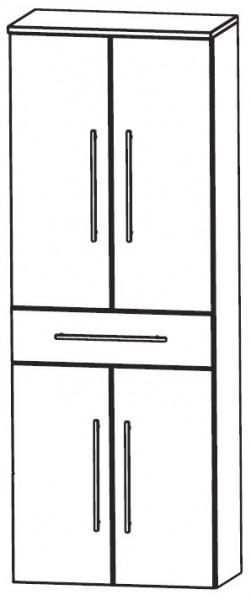 puris crescendo bad hochschrank 60 cm breit hna056a7m badm bel 1. Black Bedroom Furniture Sets. Home Design Ideas