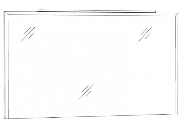 Marlin Bad 3150 - Loop Badspiegel 120 cm breit SPWIA12