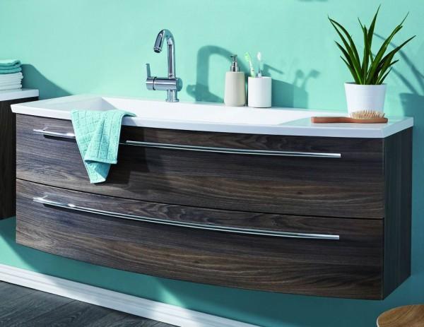 Puris Crescendo Waschtisch mit Unterschrank 140 cm breit - Becken links