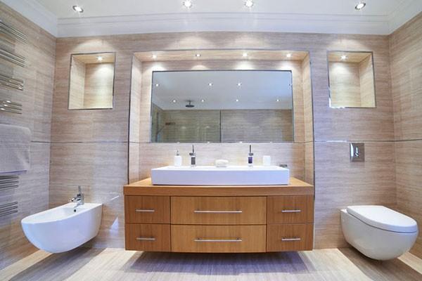 Sehr Bad-Beleuchtung » Wie schaffe ich das richtige Licht im Bad? GI22