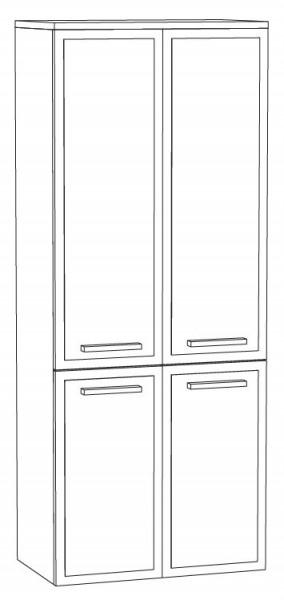Marlin Bad 3140 - Joice Bad-Mittelschrank 60 cm breit MTT6F / sofort lieferbar