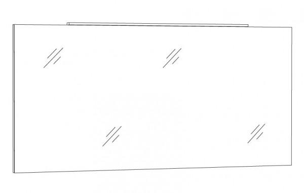 Marlin Bad 3130 - Azure Badspiegel 140 cm breit SPSFLA14