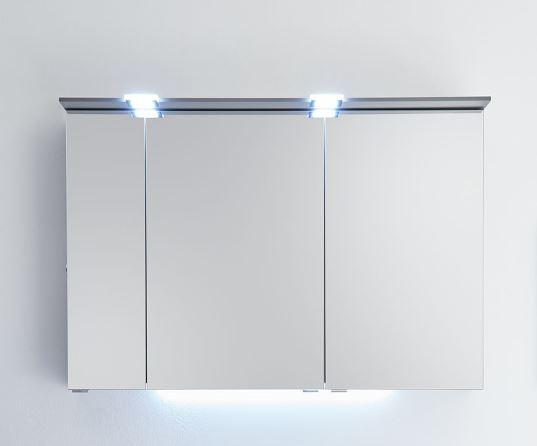 Pelipal Solitaire 6910 Spiegelschrank mit LED-Lichtkranz / 105 cm breit
