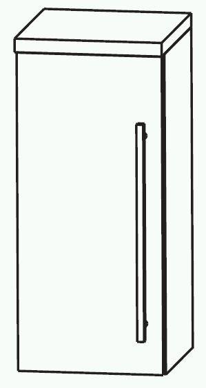 Puris Swing Bad-Oberschrank 30 cm breit OGA413A7