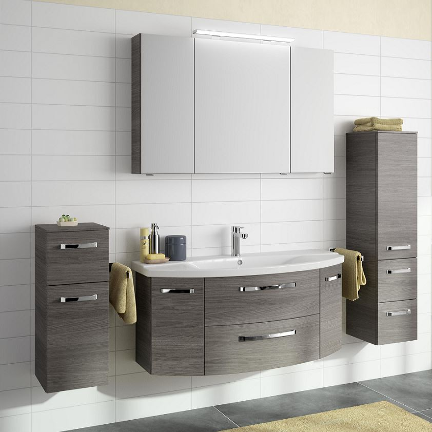 Pelipal Fokus 4010 Waschtisch Mit Unterschrank 120 Cm Breit Badmöbel 1
