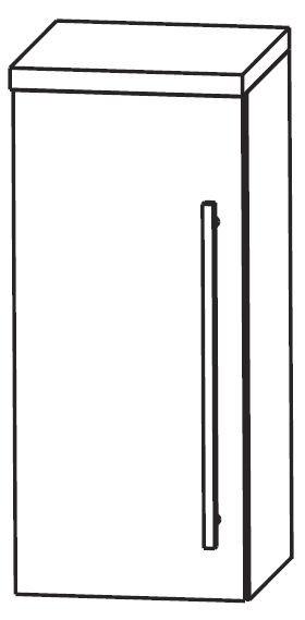 Puris WoW Bad-Oberschrank 30 cm breit OGA413A