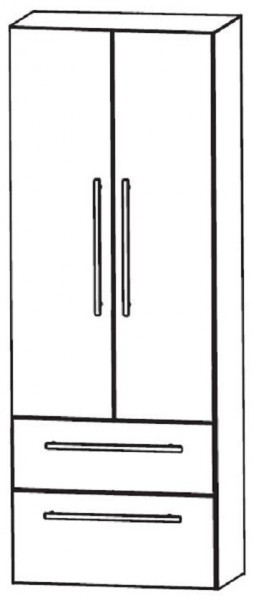 Puris Linea Bad-Hochschrank 60 cm breit HNA08605