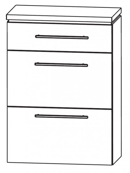 Puris Cool Line Bad-Highboard 60 cm breit HBA566A5M