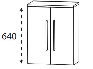 Puris Protection1 - Highboard HBA416A01 / 60 cm