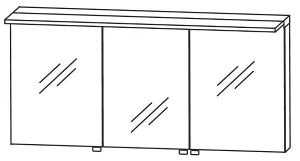 Puris Star Line Spiegelschrank 160 cm breit S2A431677