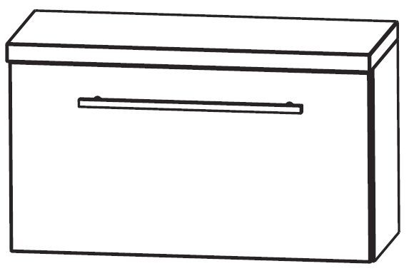 Puris Crescendo Bad-Unterschrank 60 cm breit UMA216A7K
