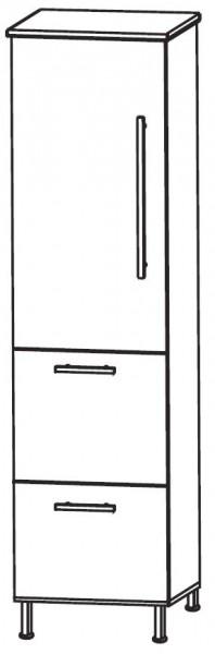 Puris Quada Bad-Mittelschrank 30 cm breit MNA773A1S L/R