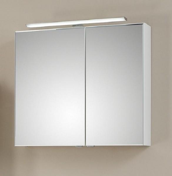 Pelipal Solitaire 6110 Spiegelschrank mit LEDplus-Aufsatzleuchte 80 cm breit 6110-SPS 10