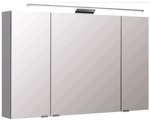 Pelipal Spiegelschrank 110 cm S5-SPSD 18 - Neutraler Spiegelschrank