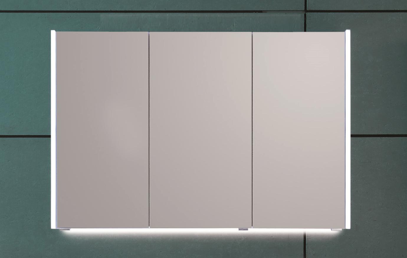 puris quada spiegelschrank 120 cm breit s2a531203 badm bel 1. Black Bedroom Furniture Sets. Home Design Ideas