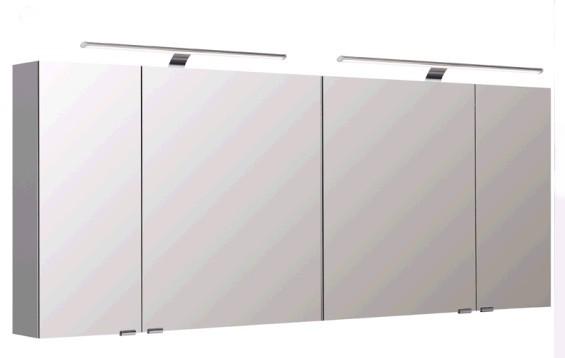 Pelipal Spiegelschrank 180 cm S5-SPSD 34 - Neutraler Spiegelschrank