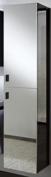 Marlin Bad 3090 - Cosmo Bad-Hochschrank mit Spiegeltüren 40 cm breit HFPP4 L/R, 17,6 cm tief