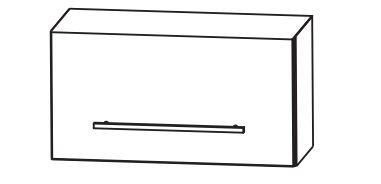 Puris Fine Line Bad-Oberschrank 60 cm breit OMA2160K