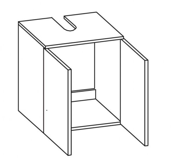 pelipal granada waschbecken unterschrank 50 cm breit badm bel 1. Black Bedroom Furniture Sets. Home Design Ideas