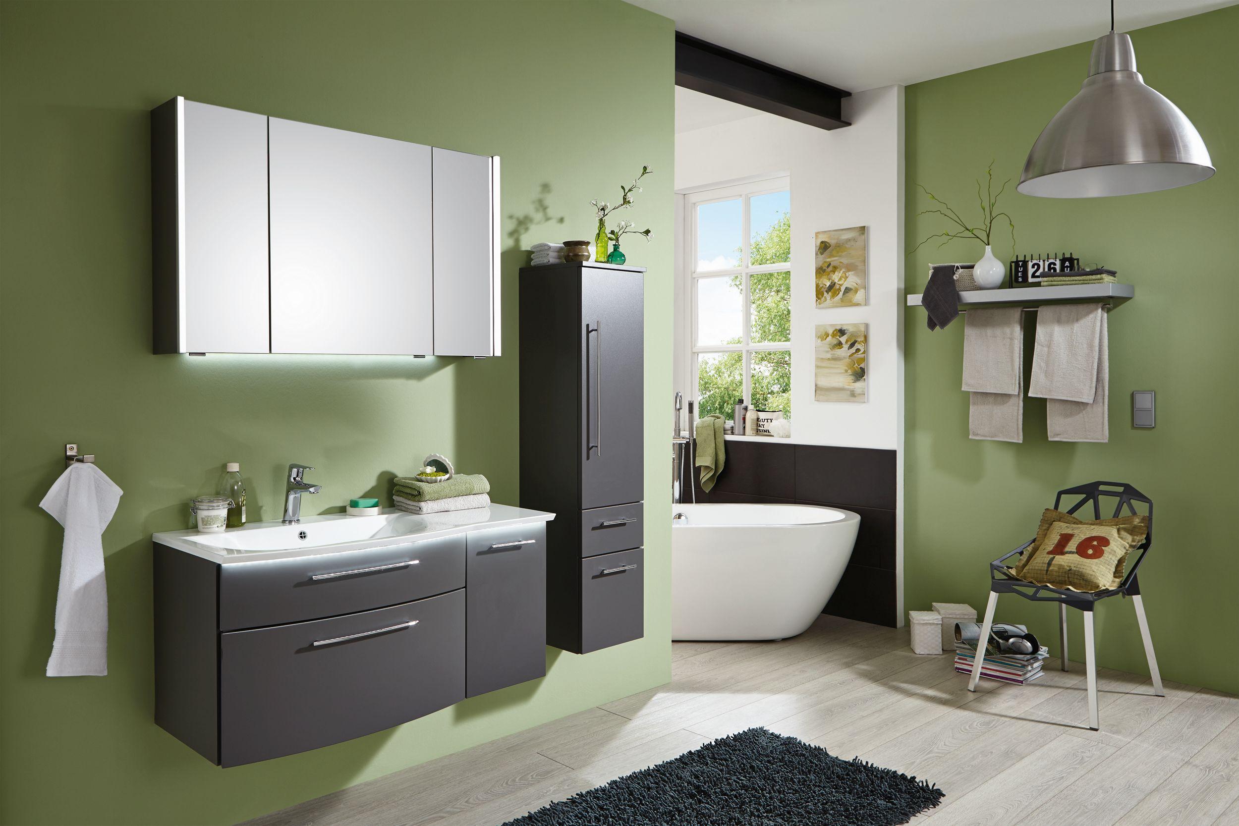 puris linea bad spiegelschrank 100 cm breit s2a431079. Black Bedroom Furniture Sets. Home Design Ideas