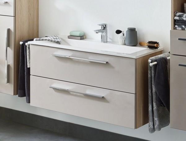 Puris Fine Line Waschtisch mit Unterschrank 92 / 95 cm breit