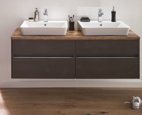 Puris Unique Waschtisch mit Unterschrank 142 cm breit