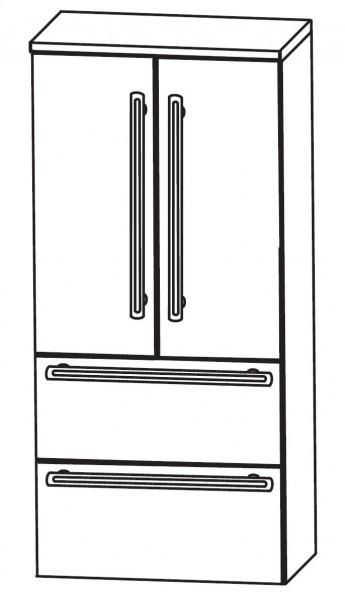 Puris Brillant Bad-Mittelschrank 60 cm breit MNA8760A1