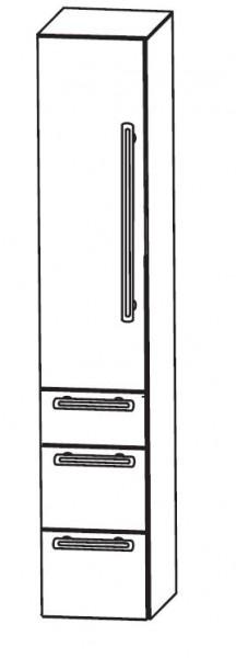 Puris Brillant Bad-Hochschrank 30 cm breit HNA093001 L/R