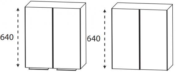 Puris 4Landa - Oberschrank / 60 cm